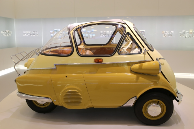 1955 BMW Isetta in Munich Museum