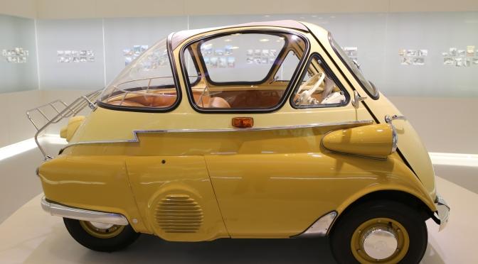 1955 BMW Isetta in Munich Museum