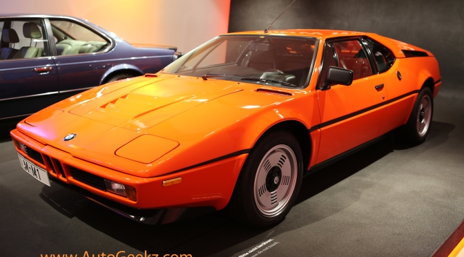 BMW M1 in Munich Museum