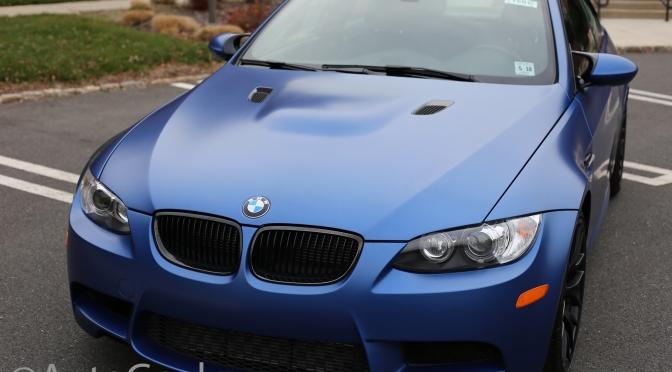 E92 M3 in Frozen Blue